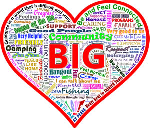 PGBIG Anniversary Heart With Words