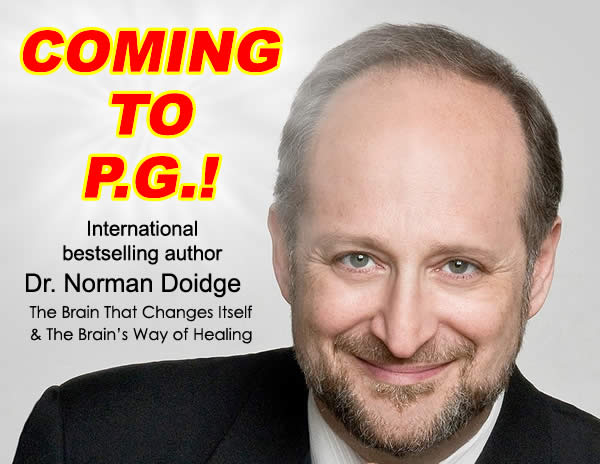 Dr Doidge Coming To Prince George
