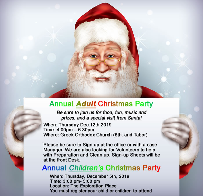 PG BIG Adult and Children Christmas Parties